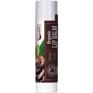 Wooden Spoon Royal Kiss organiczny balsam do ust 4,3 ml