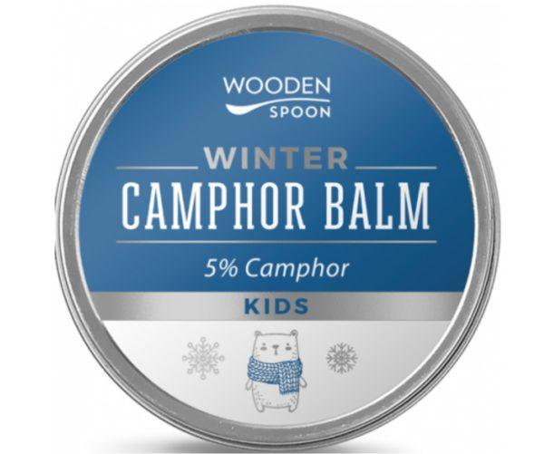 Wooden Spoon zimowy balsam kamforowy dla dzieci 5% 60 ml